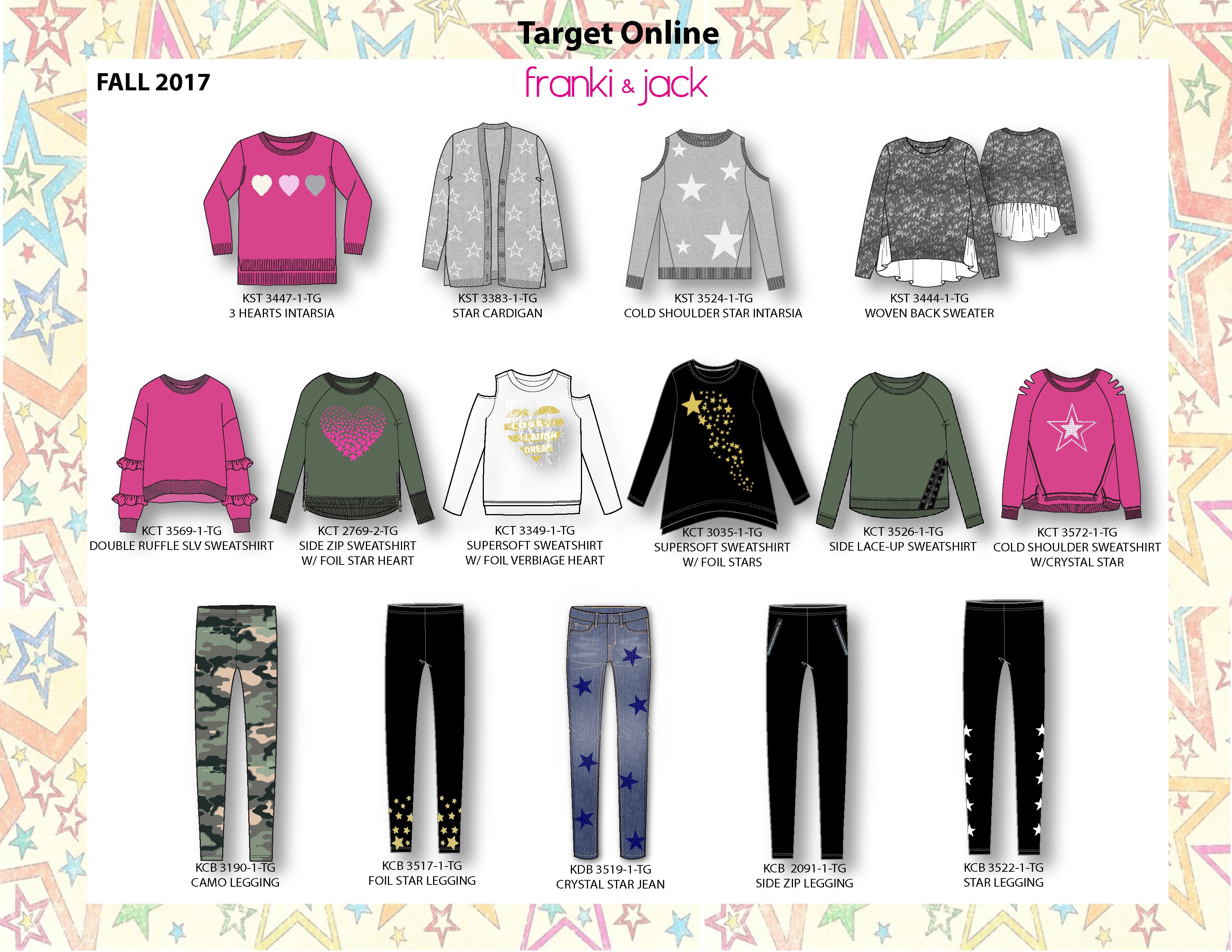 Me.n.u for Target Online Fall 2017