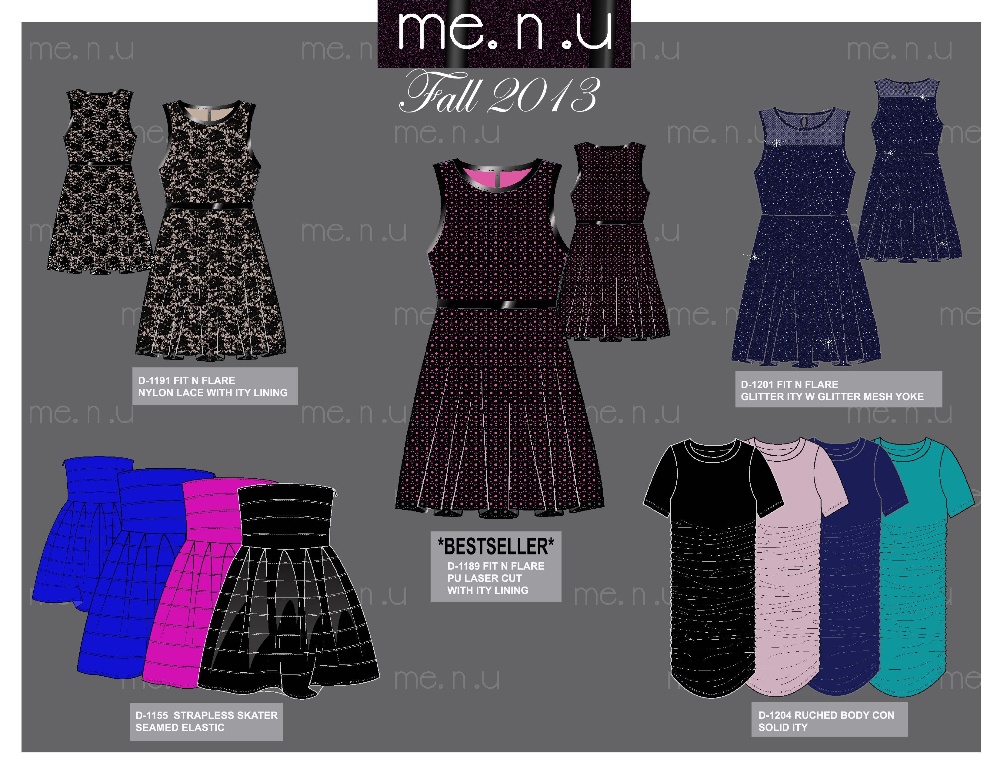 Me.n.u Fall 2013 Dresses