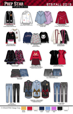 Girls Fall 2018 Collection