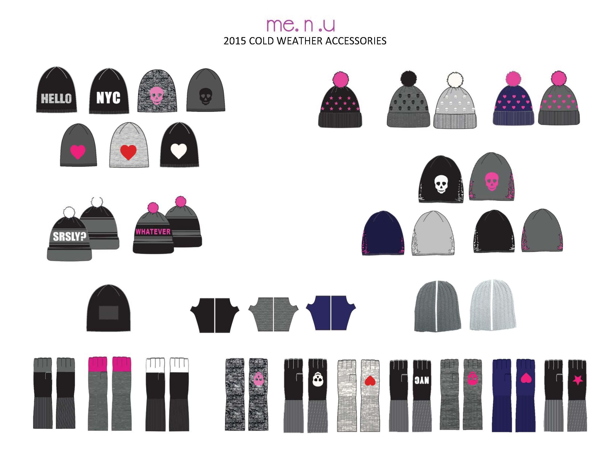 Me.n.u 2015 Cold Weather Accessories
