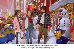 Franki & Jack (by ME.N.U.) for Target online Holiday 2015