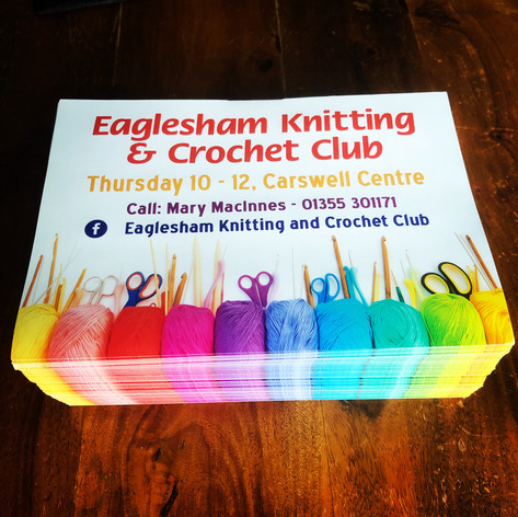 Eaglesham Knitting & Crochet Club