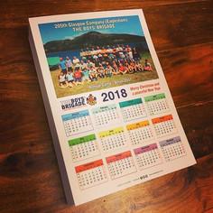 Boys' Brigade - Wall Calendar