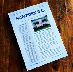 Hampden Bowling Club - Newsletter