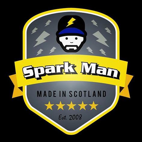 Spark Man - Logo Design