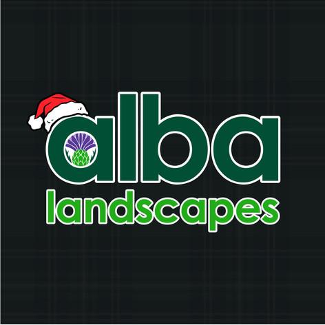 Alba Landscapes - Christmas Social Media Graphic.