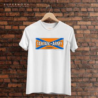 Tartan Army Iron Flag -  T-Shirt & Merchandise