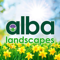 Alba Landscapes - Springtime Social Media Graphic.
