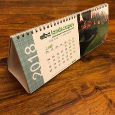 Alba Landscapes - Desk Calendars