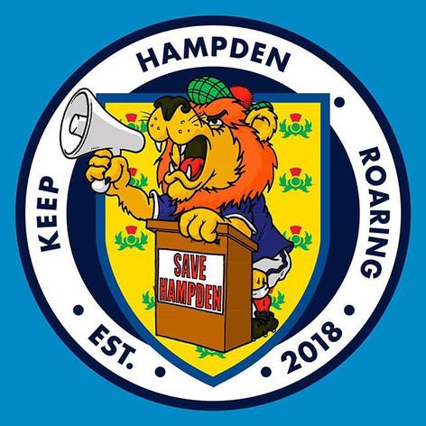 #KeepHampdenRoaring - Campaign Logo Design