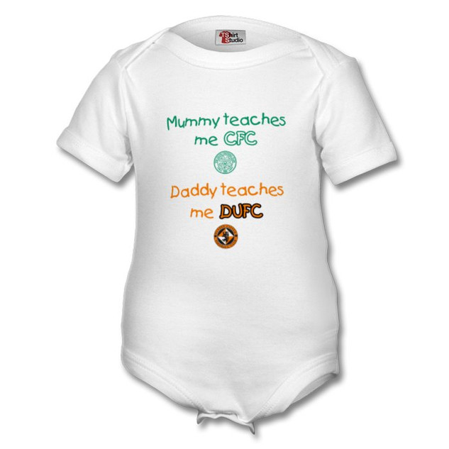 Celtic / Dundee United - Baby Vest