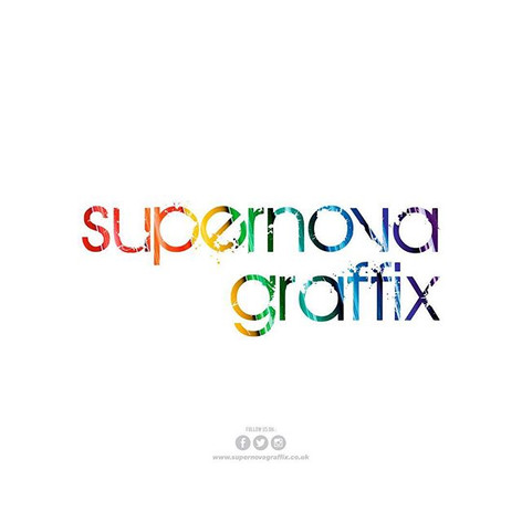 supernova graffix - Logo