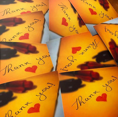 Thank You - Cards
