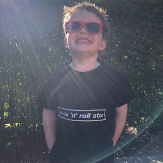 Rock 'N' Roll Star - Kids T-Shirt