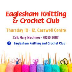 Eaglesham Knitting & Crochet Club - Logo
