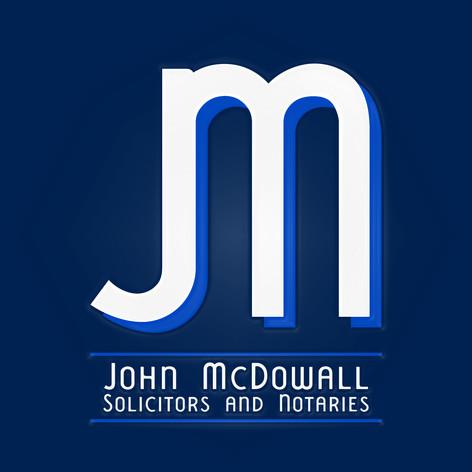 John McDowall Solicitors & Notaries - Logo Design