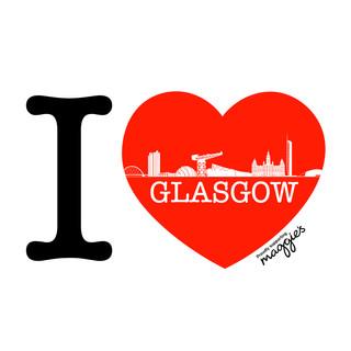 I Love Glasgow X supernova graffix 4 Maggie's