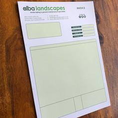 Alba Landscapes -  Invoices