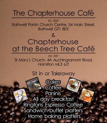 The Chapterhouse Cafe - Advert Design