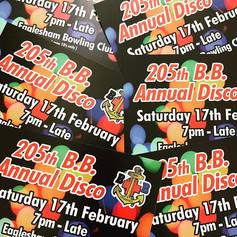 Boys' Brigade - Disco Tickets