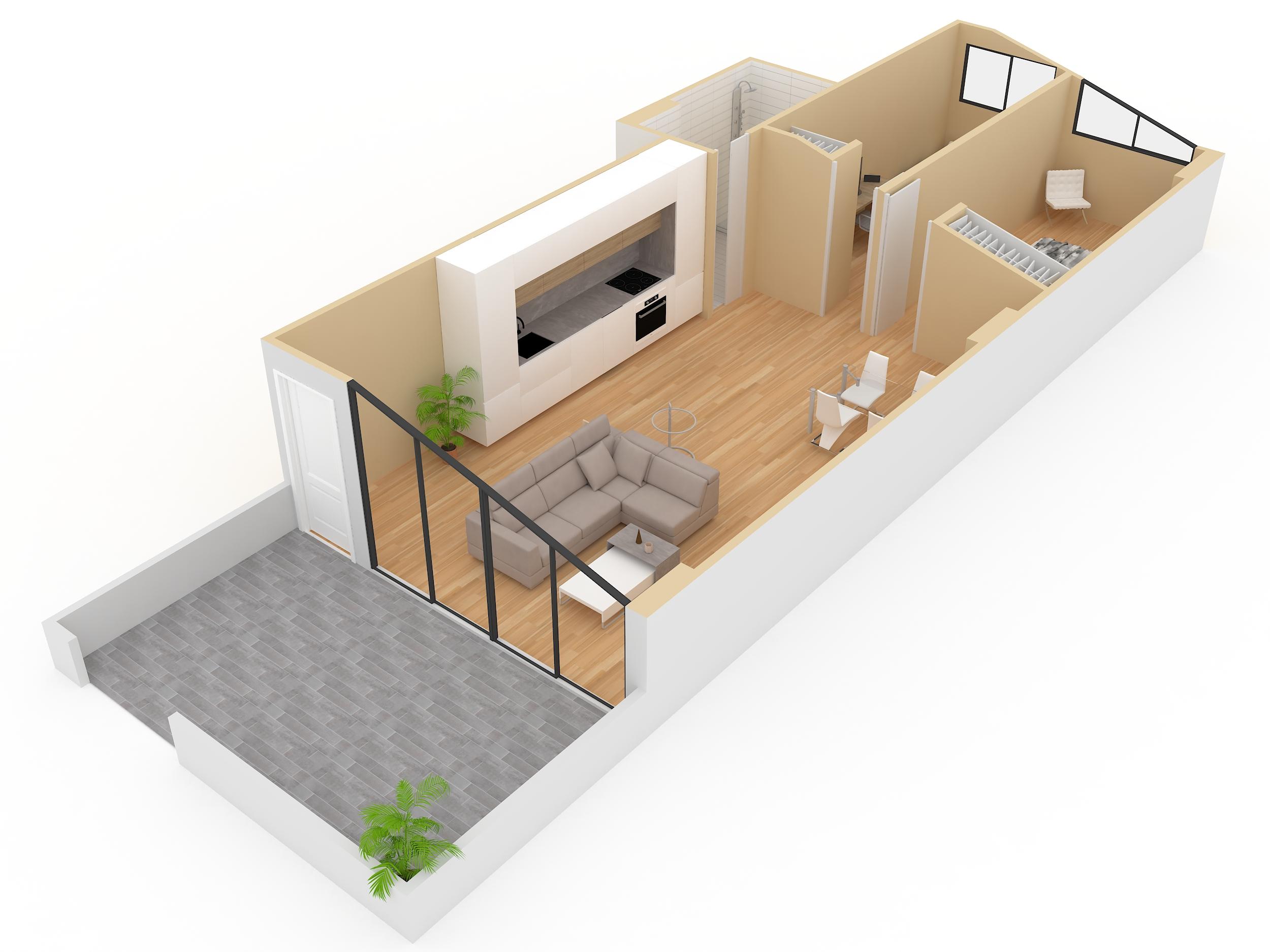 adecuación de bajo en vivienda