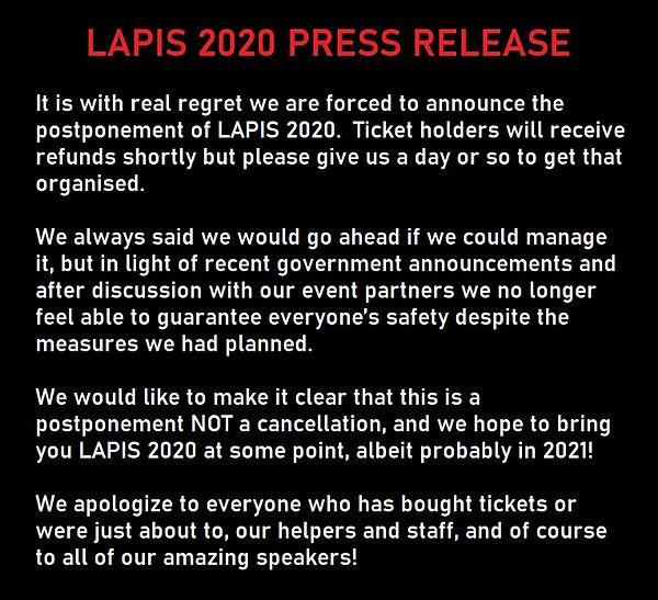 LAPIS PRESS RELEASE POSTPONEMENT.jpg