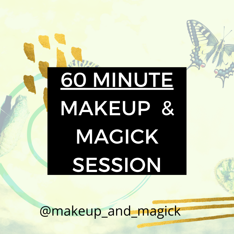 60 Min Makeup & Magick Virtual Session