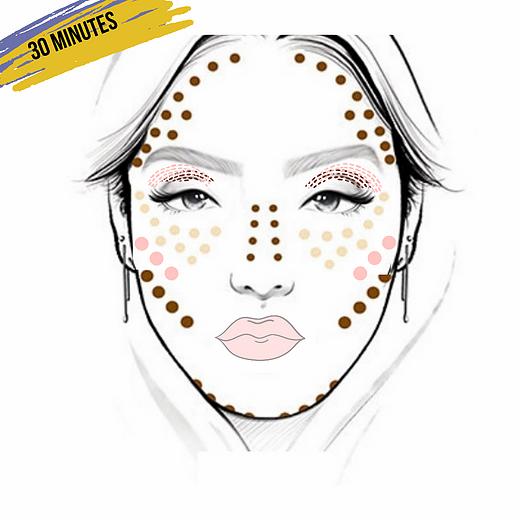 30  Minute Virtual Makeup Lesson