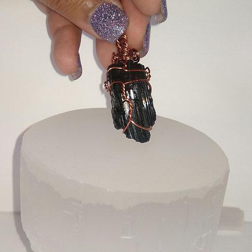 Hand Wrapped Black Tourmaline