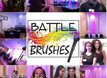 Blush Beautiful Competes at a Local Makeup Competition!