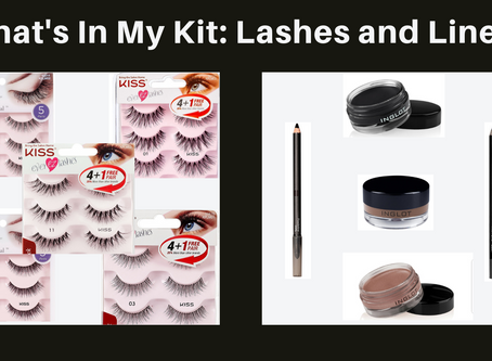 What's In My Kit :Lashes and Liners