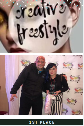 Battle Of Da Brushes Makeup Competition - 1st Place Winner Creative Freestyle
