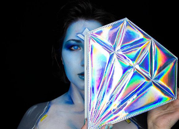 Diamond Holographic Makeup Brush Case