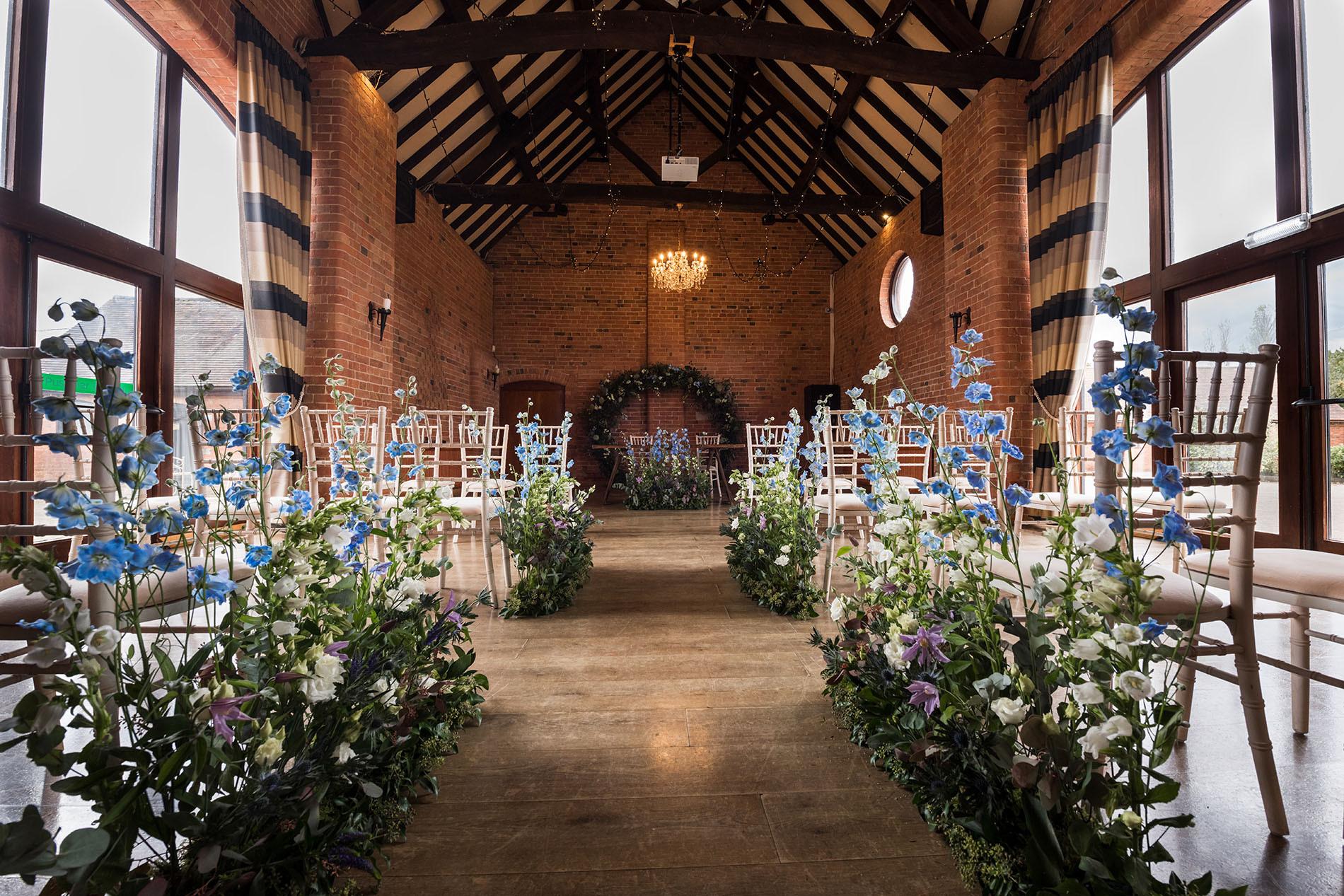 Wedding Venue Floral Styling
