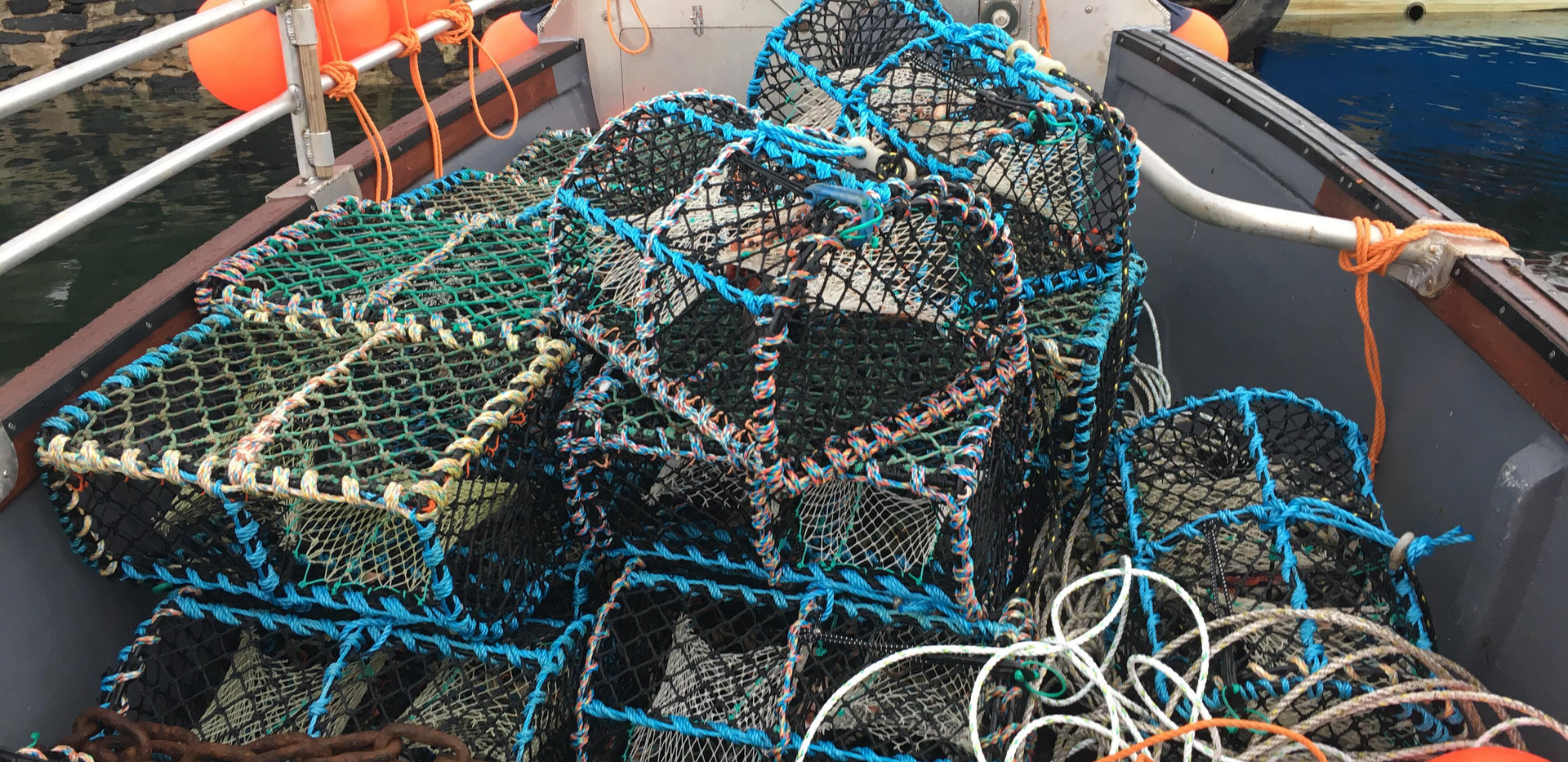 The Fisherman's creels
