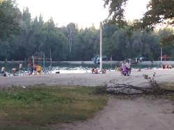 Отдыхающие в парке «Аркан Токой»
