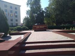 Памятник воинам-баткенцам