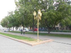 Нарядные скверы Бишкека