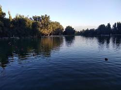Пионерское озеро в Бишкеке