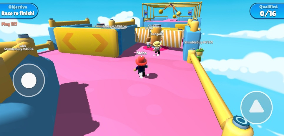 Stumble Guys is the best Fall Guys Clone on Mobile