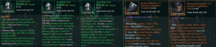 Raziel Dungeon Arena Guardian Bison Build Items