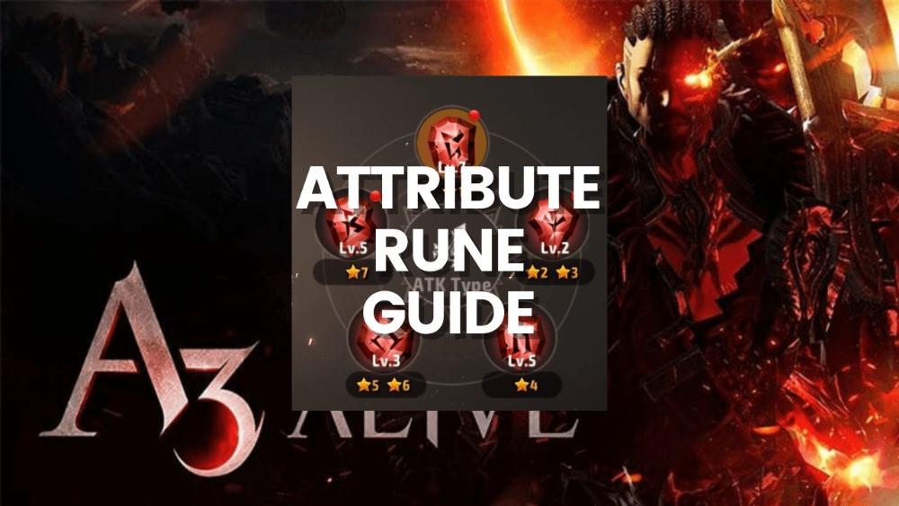 A3 Still Alive Advanced Attribute Rune Soul Linker Guide