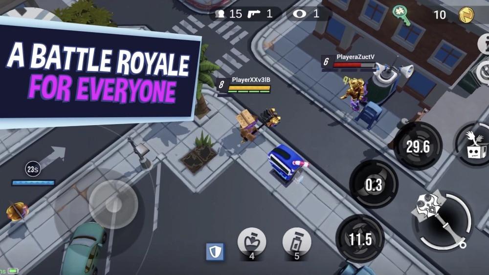 Battlepalooza Battle Royale For everyone