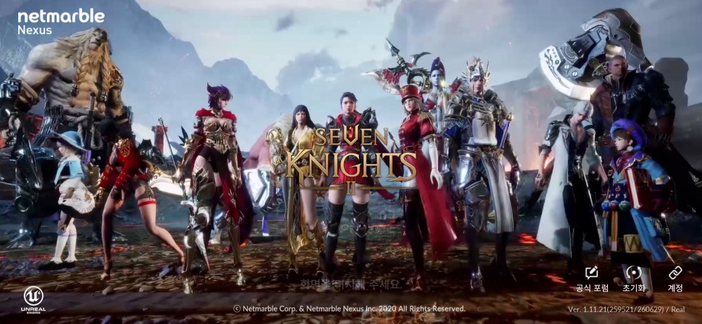 Seven Knights 2 Characters