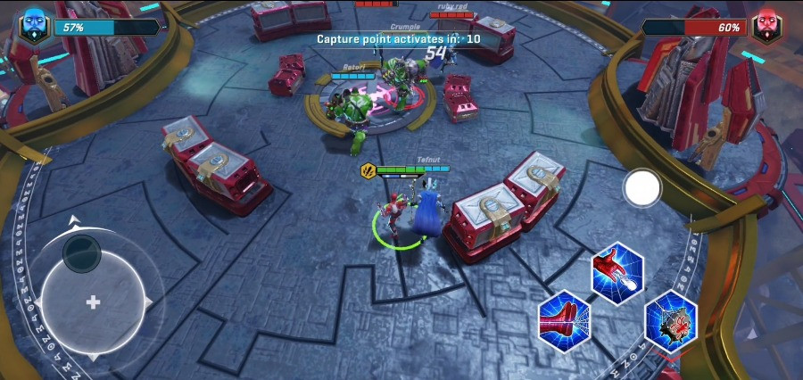 Marvel Realm of Champions Global Pre-Registration and Open Beta Gameplay 3v3