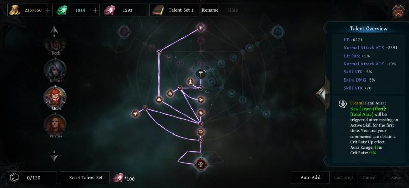 Raziel Dungeon Arena: The Best Guardian Bison Build Guide Guardian Bison Talents