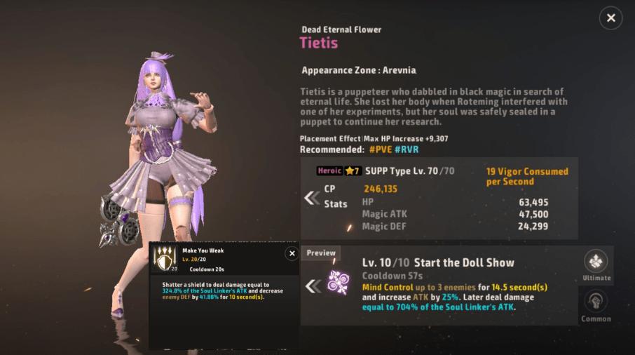 A3 Still Alive Heroic Soul Linker Tier List Tietis