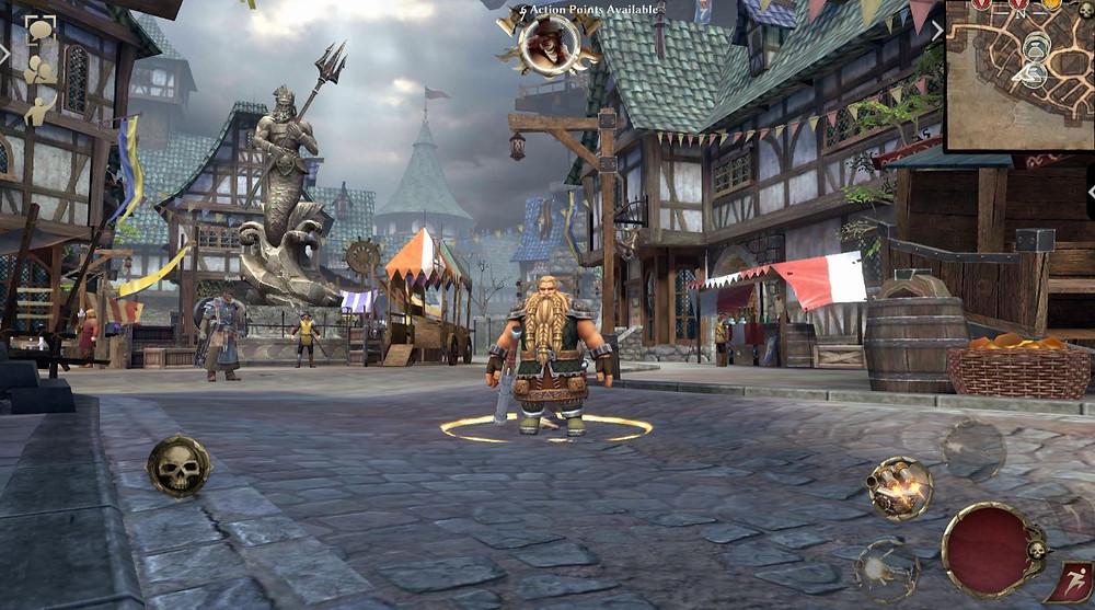 Warhammer Odyssey Global Release Gameplay Dwarf Engineer