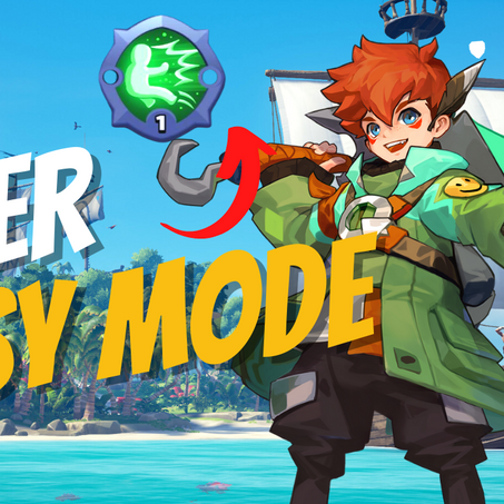 EASY MODE WITH PETER IN SMASH LEGENDS