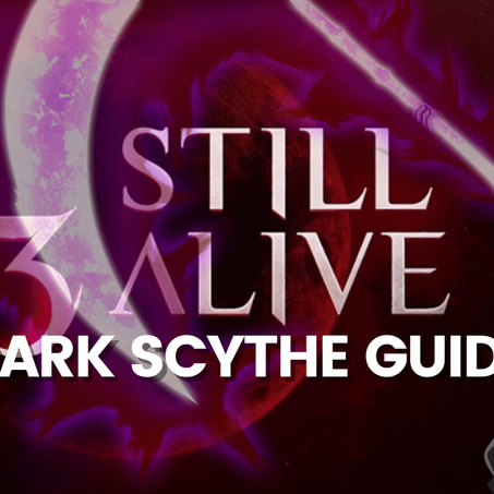 A3 Still Alive Battle Royale - Dark Scythe Guide to Win All Games